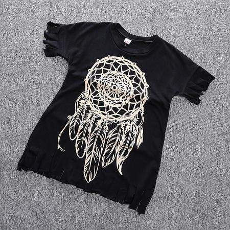 Beiby Bamboo Dresses as picture / 4T Dreamcatcher Cotton Dress