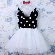 Load image into Gallery viewer, Beiby Bamboo Dresses White / 2T Minnie TUTU Dress