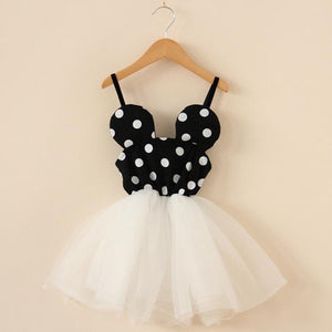 Beiby Bamboo Dresses White / 2T Minnie TUTU Dress