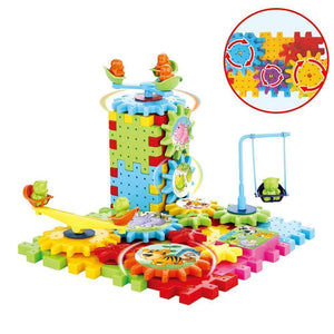 Beiby Bamboo educational toys 81pcs Children's Educational Building Blocks