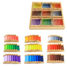 Load image into Gallery viewer, Beiby Bamboo Educational Toys Small Montessori Sensory Toys Color Box
