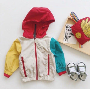 Beiby Bamboo Foldable Coat as picture / 12M French Fries Folding Coat