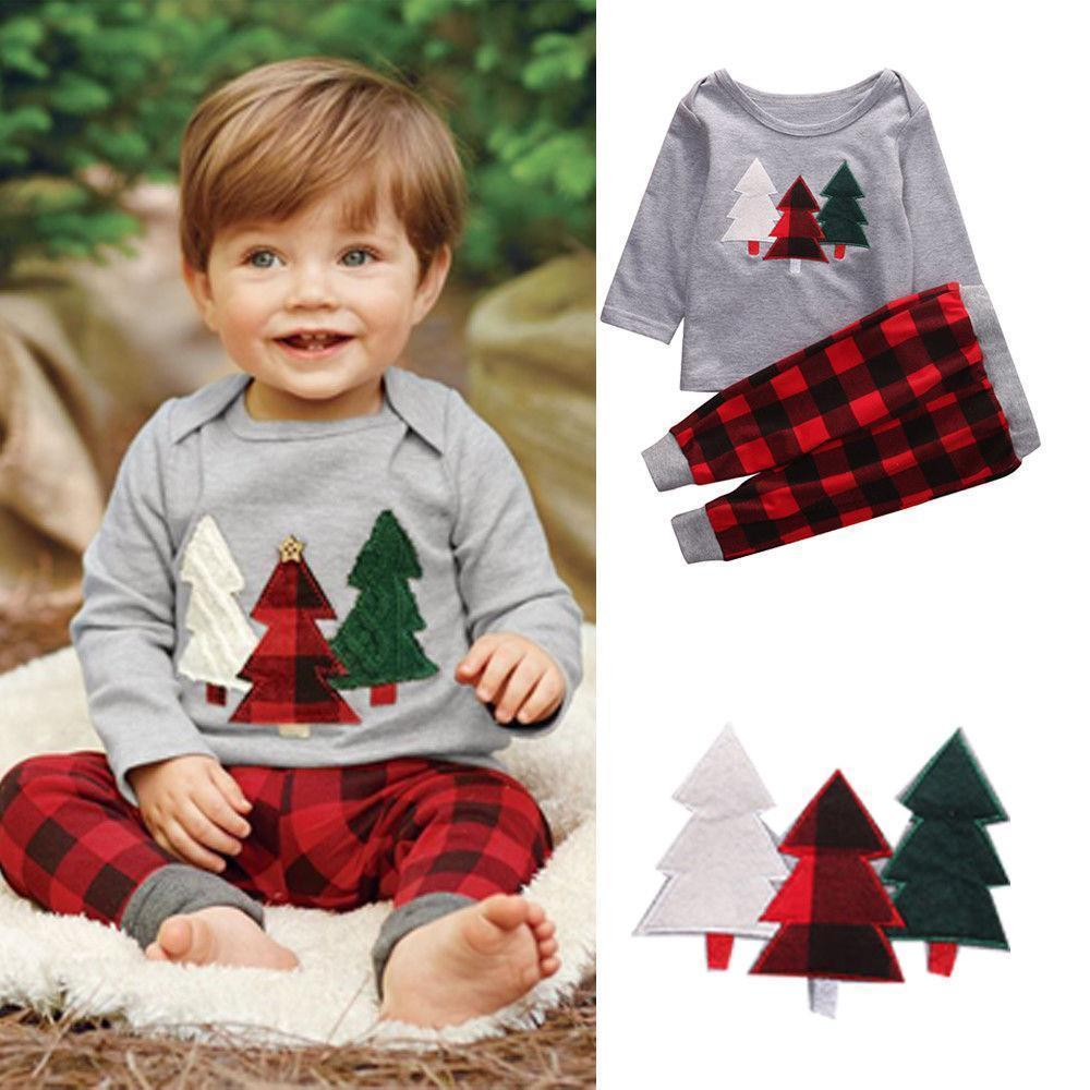 Beiby Bamboo Kids Pajamas Set 2T Christmas Toddler Pajamas Set