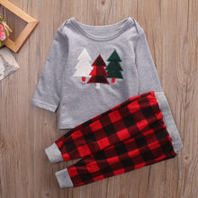 Load image into Gallery viewer, Beiby Bamboo Kids Pajamas Set 2T Christmas Toddler Pajamas Set
