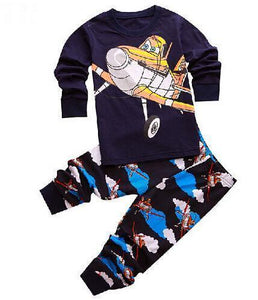 Beiby Bamboo Kids Pajamas Set style 15 / 2T Unisex Pajamas Sets(Super Heros And Disney Characters)
