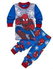 Load image into Gallery viewer, Beiby Bamboo Kids Pajamas Set style 19 / 2T Unisex Pajamas Sets(Super Heros And Disney Characters)