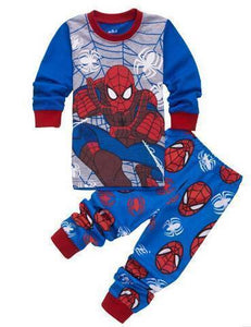 Beiby Bamboo Kids Pajamas Set style 19 / 2T Unisex Pajamas Sets(Super Heros And Disney Characters)
