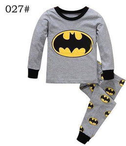 Beiby Bamboo Kids Pajamas Set style 20 / 2T Unisex Pajamas Sets(Super Heros And Disney Characters)
