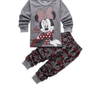 Beiby Bamboo Kids Pajamas Set style 22 / 2T Unisex Pajamas Sets(Super Heros And Disney Characters)
