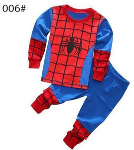 Beiby Bamboo Kids Pajamas Set style 3 / 2T Unisex Pajamas Sets(Super Heros And Disney Characters)