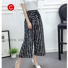 Load image into Gallery viewer, Beiby Bamboo Pants & Capris C / M Womens Wide Leg High Waist Casual Summer Thin Pants
