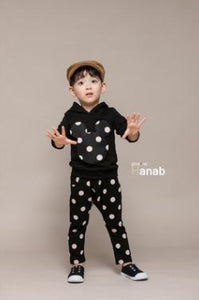 Beiby Bamboo sets boys set / 3T Twins Polka Dot 2 Pieces Set