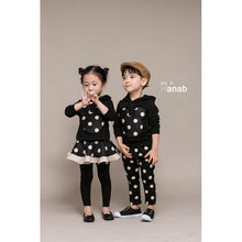 Load image into Gallery viewer, Beiby Bamboo sets girls set / 3T Twins Polka Dot 2 Pieces Set
