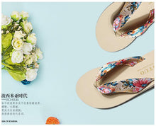 Load image into Gallery viewer, Beiby Bamboo Slippers White / 1 Mother Daughter Matching Bohemia Beach Slippers