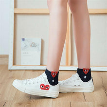 Load image into Gallery viewer, Beiby Bamboo socks 01 Red Heart Fun Female Socks