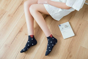 Beiby Bamboo socks 01 Red Heart Fun Female Socks