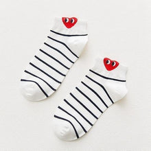 Load image into Gallery viewer, Beiby Bamboo socks 02 Red Heart Fun Female Socks