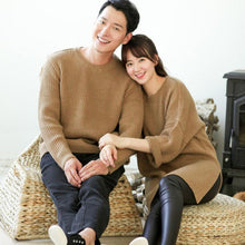 Load image into Gallery viewer, Beiby Bamboo sweaters Khaki / dad S Family Matching Long Sweaters