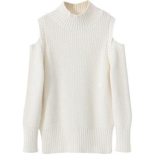 Beiby Bamboo sweaters White / 110 Mommy and Me Matching Off Shoulder Sweater