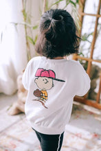 "Load image into Gallery viewer, Beiby Bamboo Sweaters White / Mom S Family Matching Hoodies ""Charlie Brown"" White"
