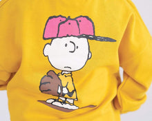 "Load image into Gallery viewer, Beiby Bamboo sweaters Yellow / 18M Family Matching Hoodies ""Charlie Brown"" Yellow"