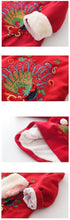Load image into Gallery viewer, Beiby Bamboo Tangzhuang 3T Cheongsam Traditional Chinese Peacock Embroidery Dress