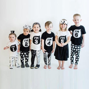 Beiby Bamboo tops as photo / 3T Kids FunnyT-shirt Figure Print