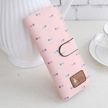 Load image into Gallery viewer, Beiby Bamboo wallets Baby Pink Large Capacity Credit Card Business Card Holders