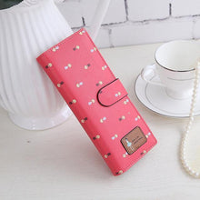 Load image into Gallery viewer, Beiby Bamboo wallets Watermelon Large Capacity Credit Card Business Card Holders