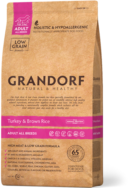 Grandorf | Adult | Turkey & Brown Rice | Pute und brauner Naturreis