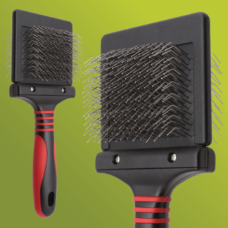 Pro Firm Flexible Slicker Brush for Dogs