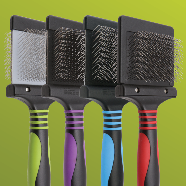 Pro Flexible Slicker Brush Set for Dogs