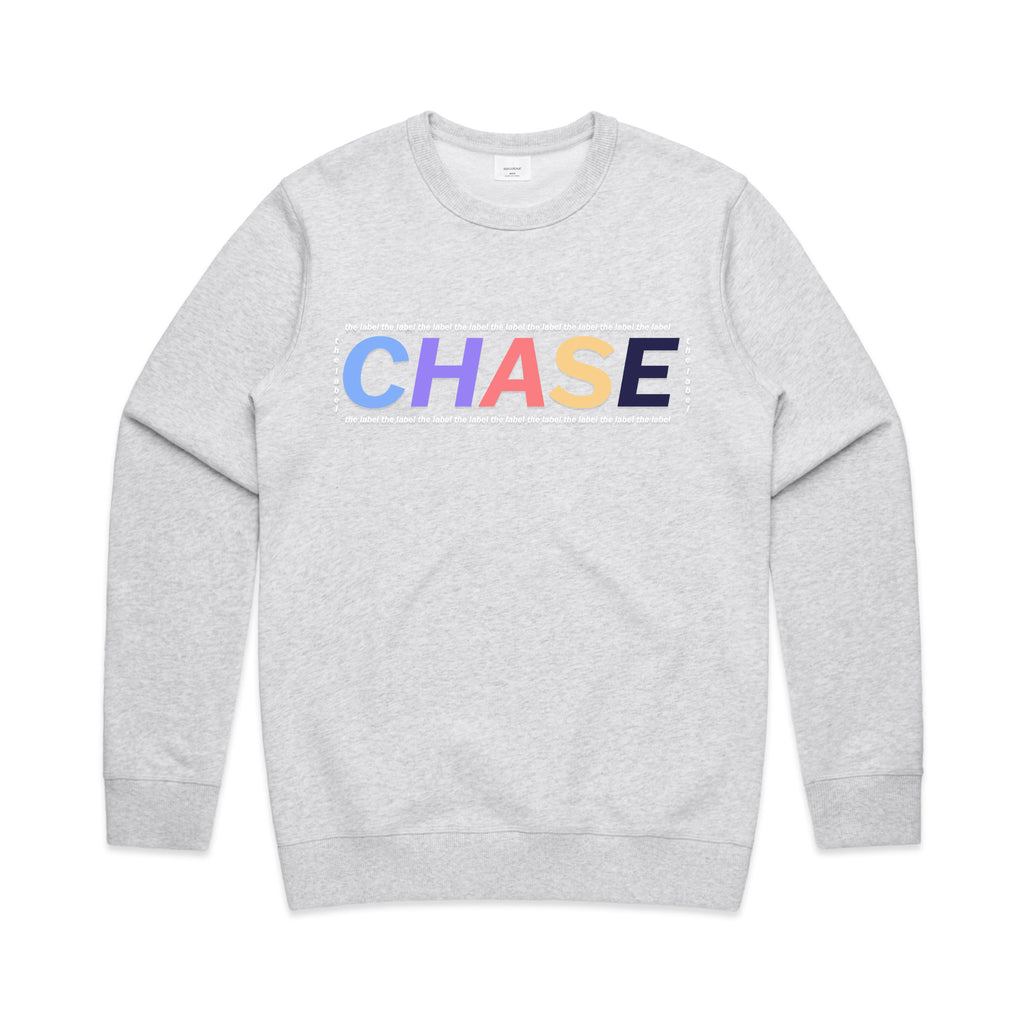 Chase The Label Box Crew Jumper