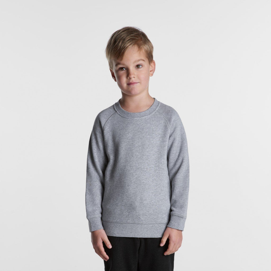 Kids Crew Jumper-Kids Crew Jumper-The Tshirt Studio