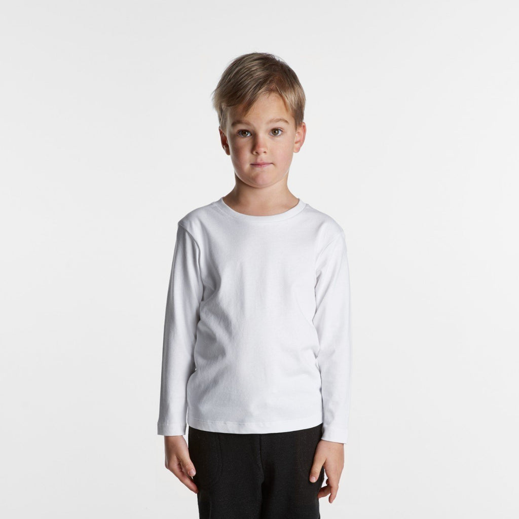 Kids Long Sleeve Tshirt-Kids Tshirt-The Tshirt Studio