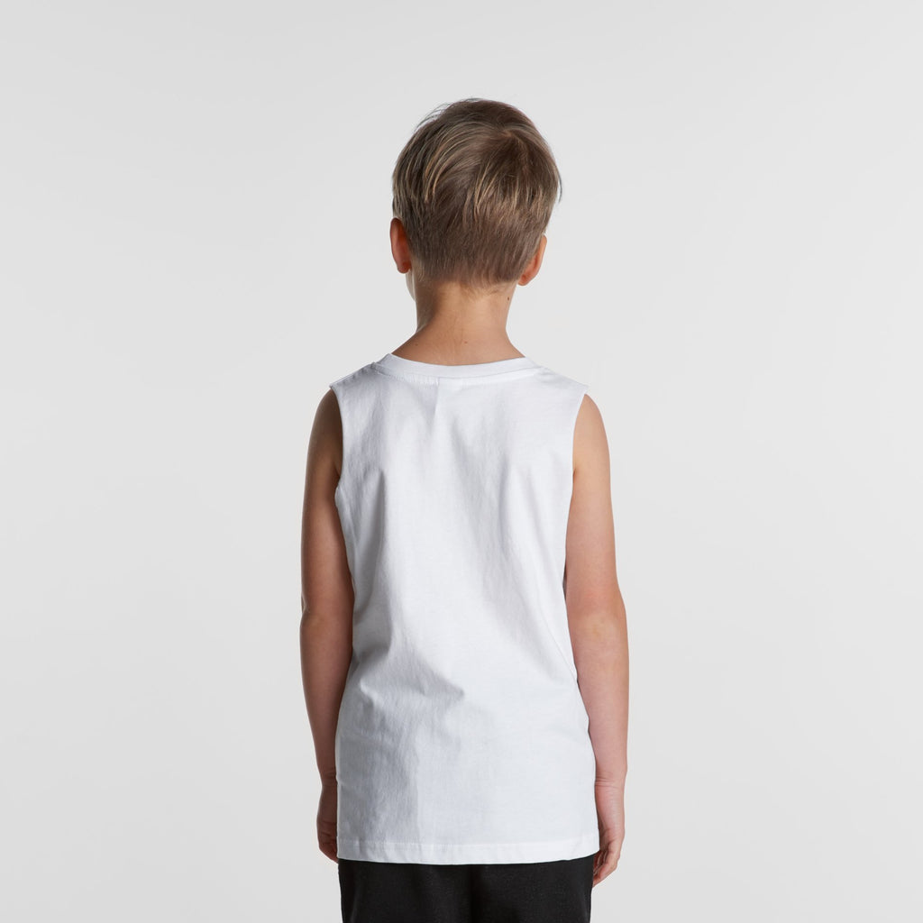 Kids sleeveless Tank-Kids Singlets & Tanks-The Tshirt Studio