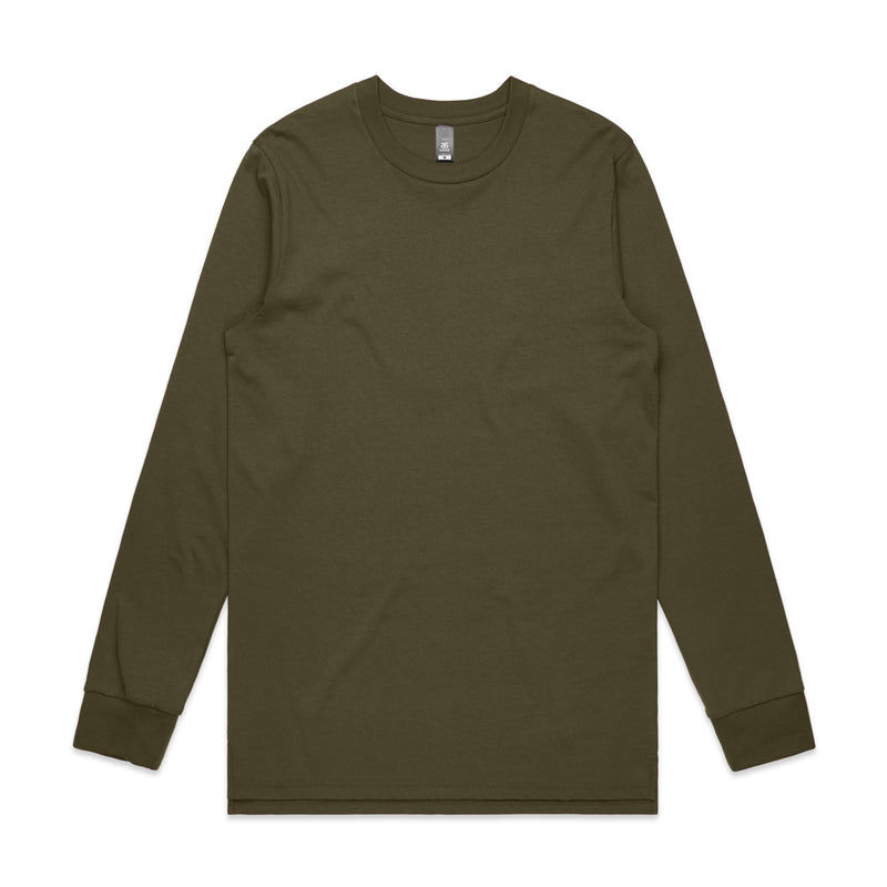 Mens Base Long Sleeve Tshirt - Army