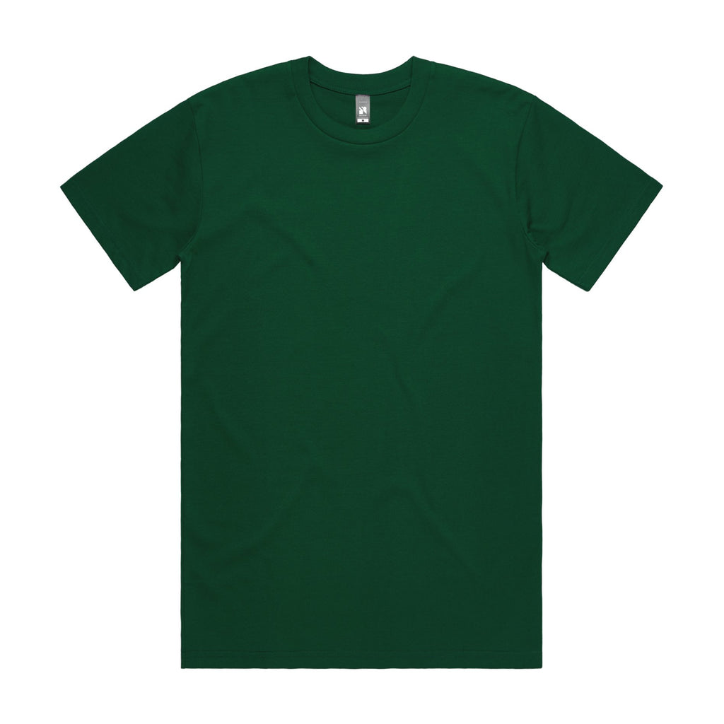 Mens Surf Tshirt - Emerald Green