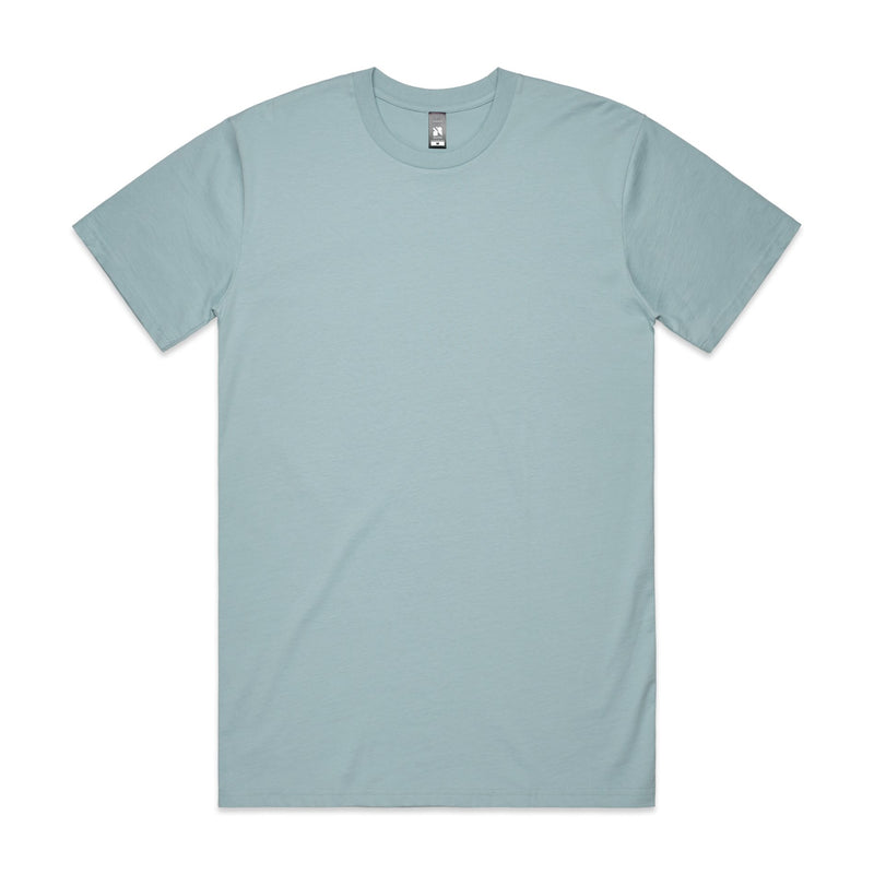 Mens Surf Tshirt - Pale Blue