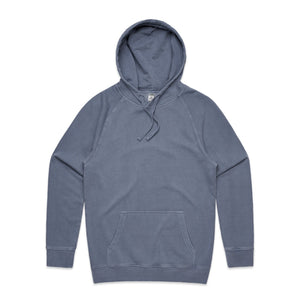 Mens Faded Hoodie - Faded Blue