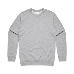 Mens Premium Crew Jumper - Grey