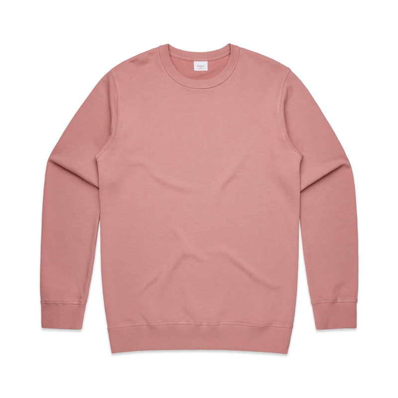 Mens Premium Crew Jumper - Rose