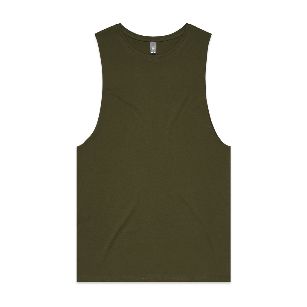 Mens Sleeveless Tank - Army
