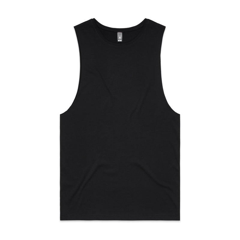 Mens Sleeveless Tank - Black