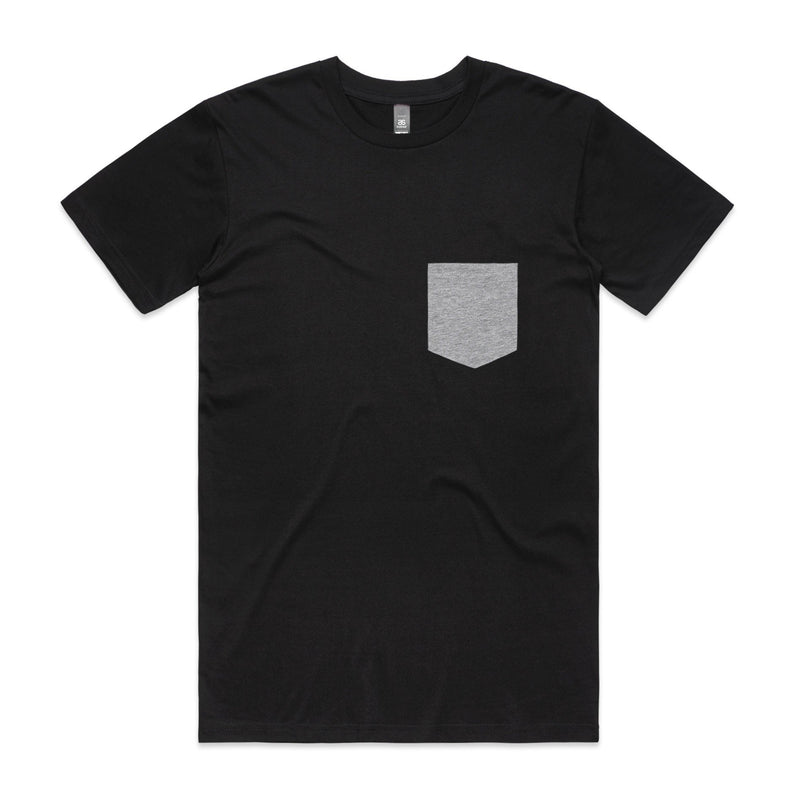 Mens Premium Pocket Tshirt - Black
