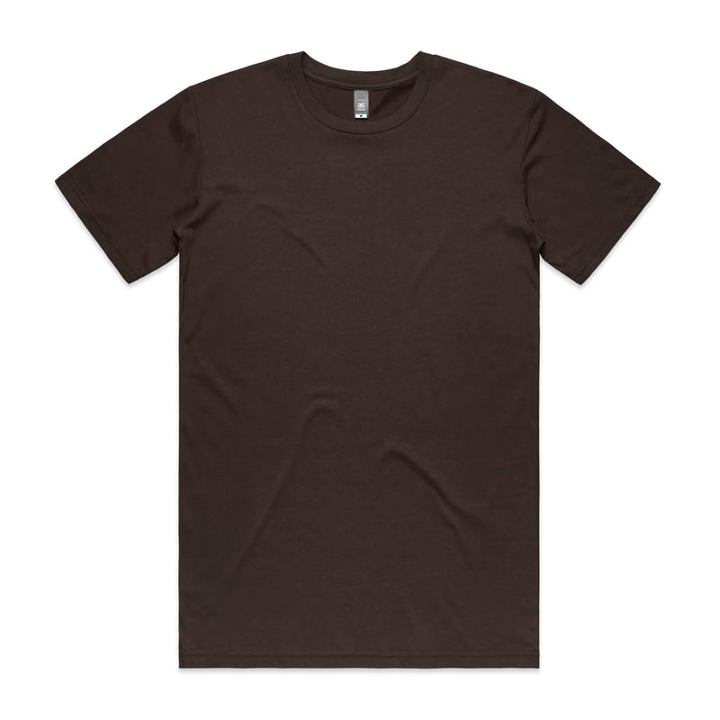 Mens Premium Tshirt - Dark Chocolate