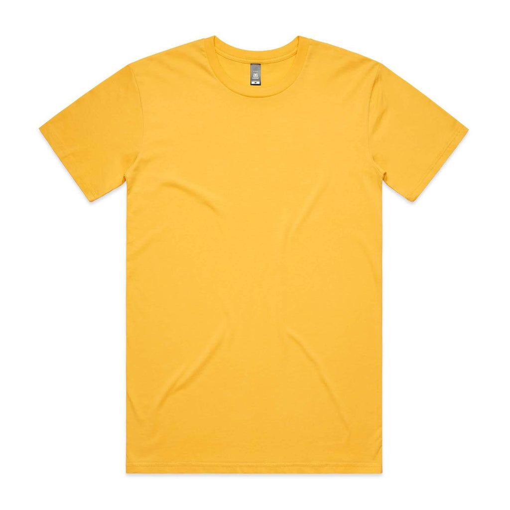 Mens Premium Tshirt - Yellow