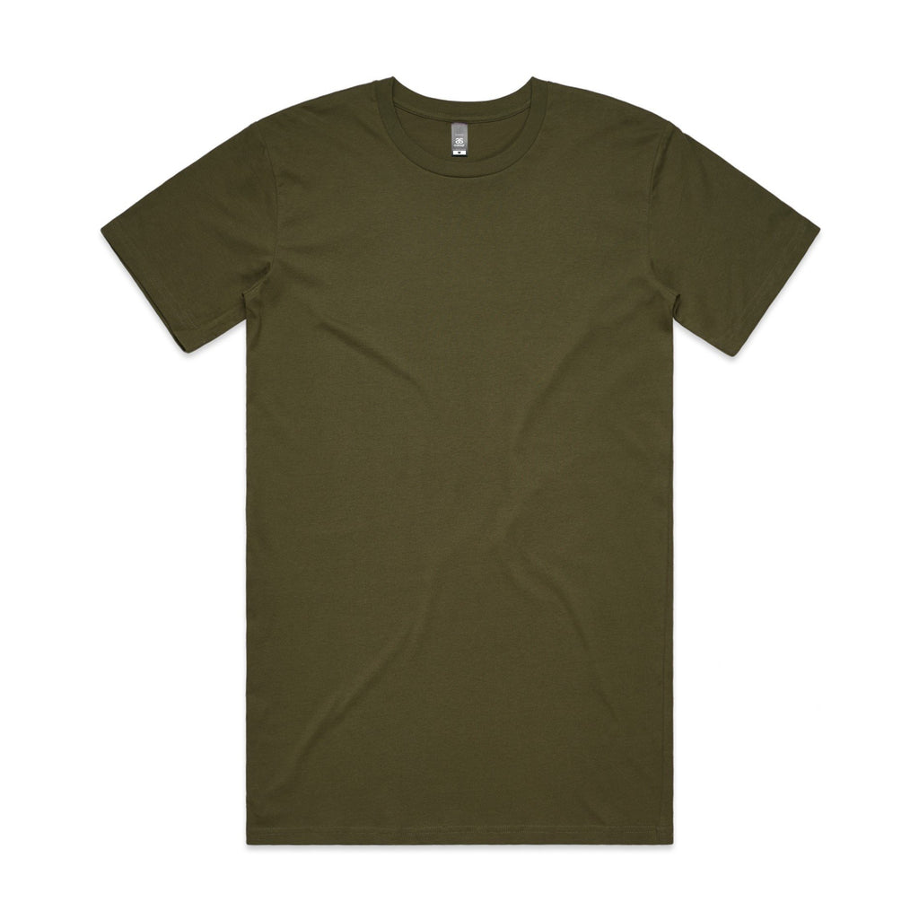 Mens Tall Tshirt - Army
