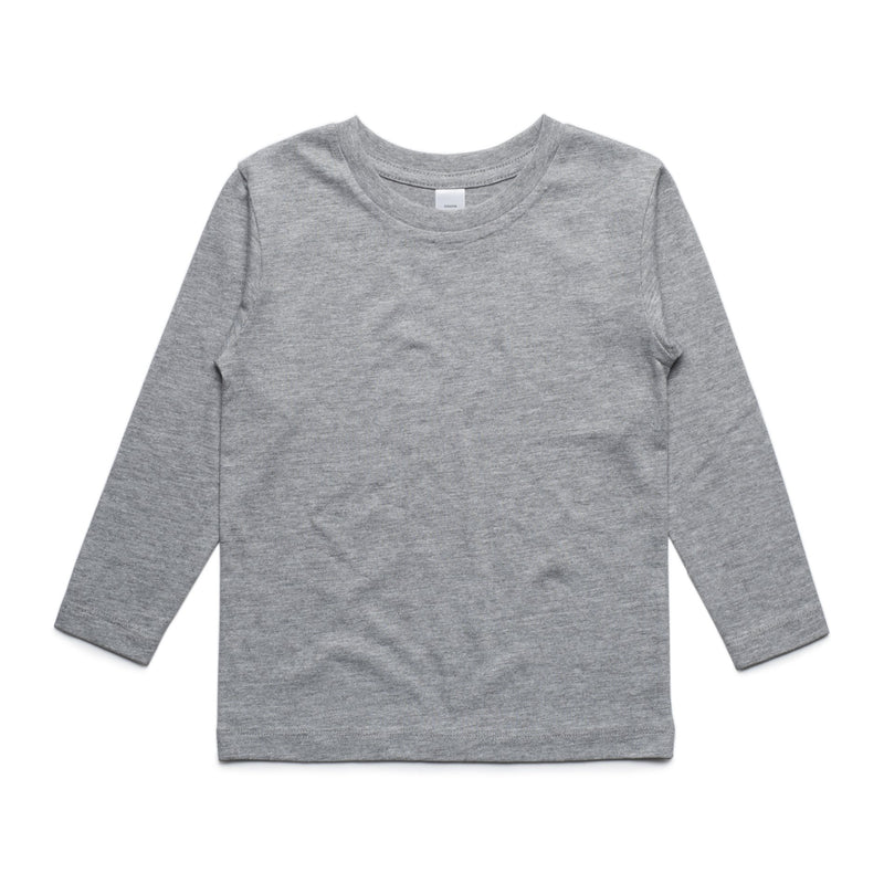Youth Long Sleeve Tshirt - Grey
