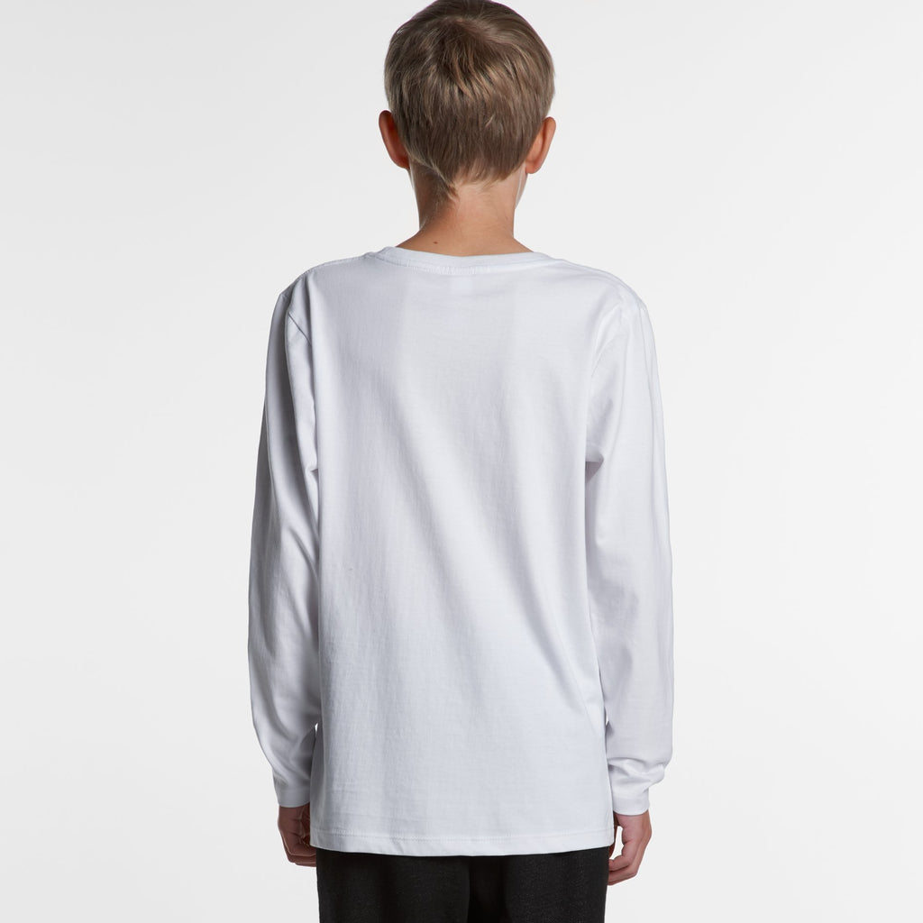 Teen Long Sleeve Tshirt-Kids Tshirt-The Tshirt Studio